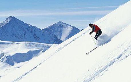 Užijte si 4 dny na horách! Lyžujte a relaxujte v Tatrách. 50% sleva na pobyt na 4 dny s polopenzí a vstupem do sauny v hotelu RYSY*** ve Vysokých Tatrách.