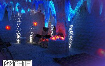 45 minut v solné jeskyni pro 2 za 80 Kč! Načerpejte minerály a prospěšné látky ve dvou v romantickém prostředí.