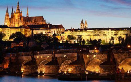 Chcete se mít blaze? Užijte si pobyt v Praze. 38% sleva na ubytování na 2 noci pro 2 osoby v Hotelu Pyramida v Praze.