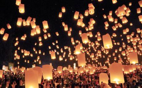 Kupte LAMPIONY štěstí a k nebi je pošlete! O svých přáních jen nesněte. 40% sleva na 5 lampionů štěstí ve tvaru srdce. Pojistěte si na Valentýna štěstí.