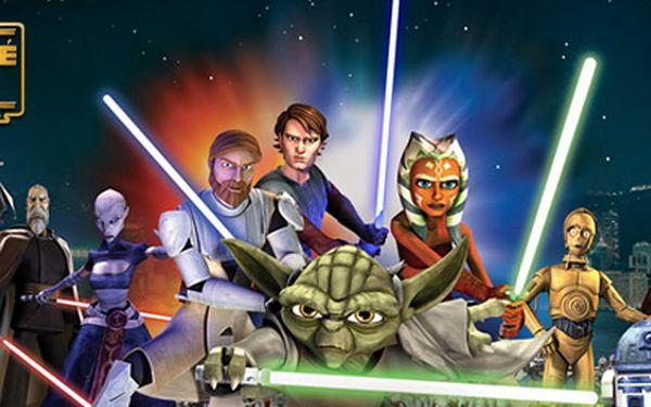 29 Kč za vstupenku do kina Metropol na promítání filmů Star Wars: Klonové války. Nastolte mír a řád v Galaxii se slevou 51 %!