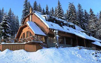 5denní zimní pobyt s lyžováním v Horském hotelu VIDLY **** u Pradědu