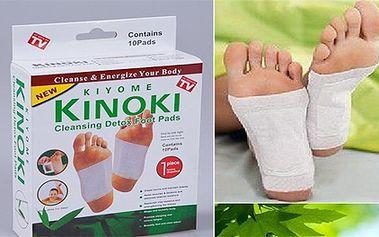 2x KINOKI za 199,- Dopřejte si očistu organismu s detoxikačními náplastmi KINOKI z pohodlí domova. Náplasti podle tradiční čínské medicíny zbaví tělo škodlivých toxinů a zlepší chod celého organismu!