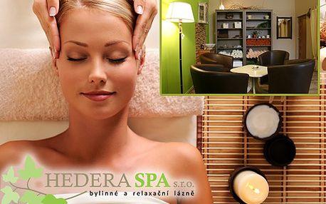 Bylinná parní lázeň a antistresová masáž hlavy s 50% slevou!