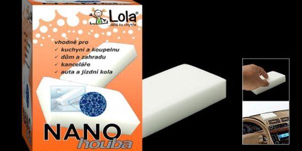 Nano-houba od společnosti Chytrá Lola je úklidovou pomůckou 21. století. Pouze za 57,- Kč. Síťová struktura této nano-houby vyčistí téměř vše, i odolné nečistoty. Proč si neudělat úklid trošku jednodušší?