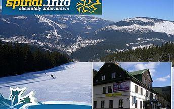 4 dny pro jednoho ve Špindlu za 999 Kč! Užijte si krkonošský pobyt v příjemném penzionu. Ski-bus je vzdálený pouhých 50 metrů!