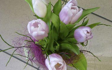 Jen 90 Kč za nádhernou kytici v kombinaci tulipánů doplněnou zelení. To vše se slevou 50%. Blíží se Valentýn i MDŽ, proto potěšte svoje nejbližší.