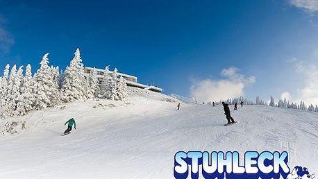 Skvelá lyžovačka v rakúskych Alpách v Spital am Semmering - STUHLECK za rozumnú cenu