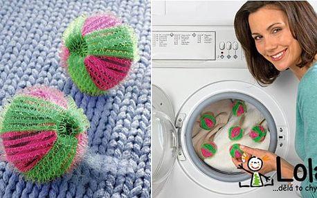 MĚJTE VAŠE PRÁDLO POŘÁD JAKO NOVÉ! 6 míčků proti žmolkům za 117 Kč! Míčky pomohou vyprat vaše prádlo a zbaví jej žmolků, vlasů a chlupů vašich domácích mazlíčků. Udělejte si život snadnější s ChytraLola.cz!