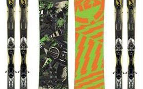 """Lyžaři i """"nelyžaři"""": Boty + lyže + hůlky (nebo snowboard + boty) 3denní půjčení za 349 Kč, na TÝDEN JEN ZA 698 Kč. Na víkend či na týden? Lyže od nás!"""