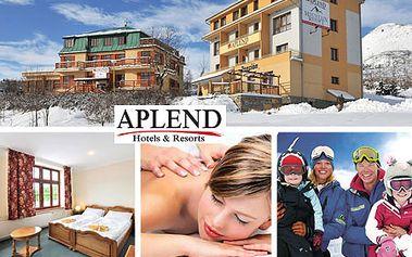 4-dňový vysokohorský pobyt pre 2 osoby v HORNOM SMOKOVCI v izbách APLEND Mountain Resort***! Zažite skvelú lyžovačku v centre krásnych Tatier so zľavou až 40%! +50% zľava na wellness masáže a saunu, až do 30% zľava na skipasy!