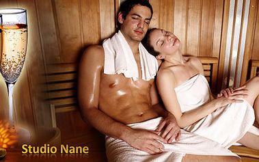 Skvělý Valentýnský odpočinek pro DVA - InfraSauna a láhev dobrého lambruska! Dopřejte si klidný a zamilovaný večer ve dvou!