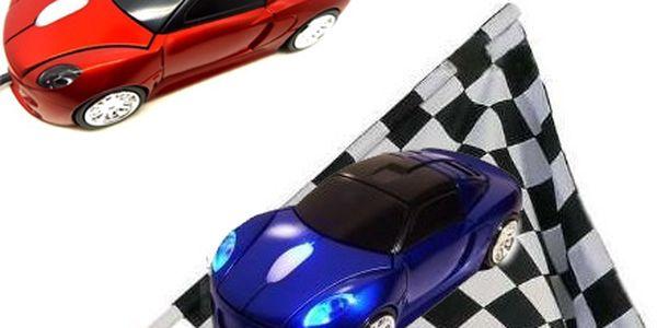 Stylová optická myš ve tvaru Porsche!Pořiďte si stylový doplněk k počítači nebo notebooku za skvělou 199,-kč