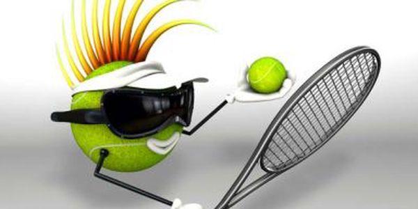 250 Kč za 1 hodinu tenisu v kryté hale v Ostravě na Landeku v hodnotě 400 Kč