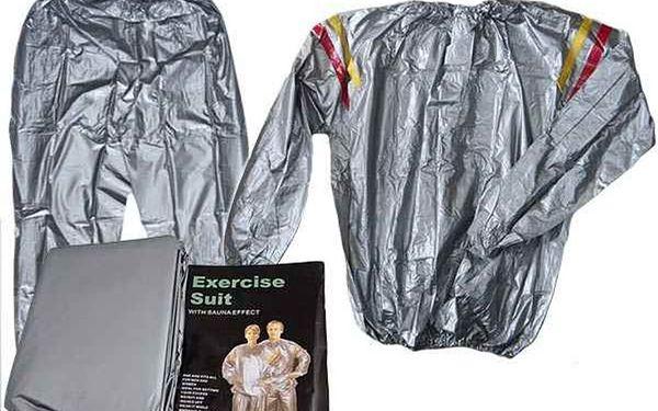 S hubnoucím oblekem SAUNA WEAR zhubnete rychleji a pohodlněji!! Urychluje redukci tuků - nyní jen za 279 Kč! Vypoťte se!!