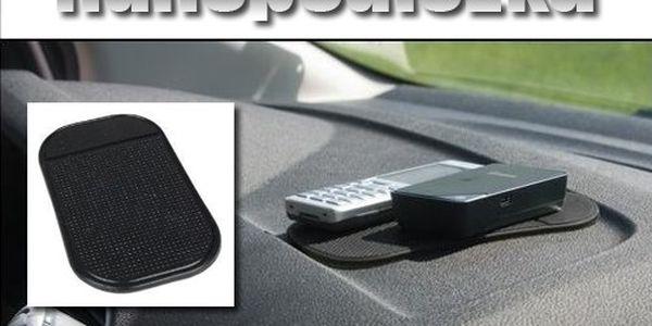 59 Kč za NANOPODLOŽKU + 1 NAVÍC ZDARMA! Mít věci na svém místě, a to ne jen v autě, je k nezaplacení! Nehledejte už brýle, telefon či drobné mince po přihrádkách!
