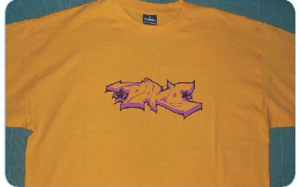 ORIGINAL Hip-Hopové tričko z prvotřídního materiálu. Ti kdo mají, mohou doporučit!