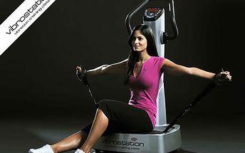 Účinný vibrační trénink se slevou 55 %. Místo hodin v posilovně stačí 30 minut!