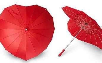 BRNO - 299 Kč za deštník ve tvaru srdce pro 2 osoby. Skvělý doplněk pro všechny zamilované - zpříjemněte si upršenou zimu! Sleva 63 %