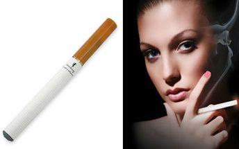 Jedinečná nabídka pro všechny kuřáky! Získejte za bezkonkurenční cenu 180 Kč elektronickou cigaretu a k tomu 10 ks náplní! Navíc také získáte 3 druhy nabíjení!