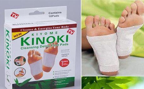 Dopřejte si očistu organismu s detoxikačními náplastmi KINOKI z pohodlí domova. Náplasti podle tradiční čínské medicíny zbaví tělo škodlivých toxinů a zlepší chod celého organismu!