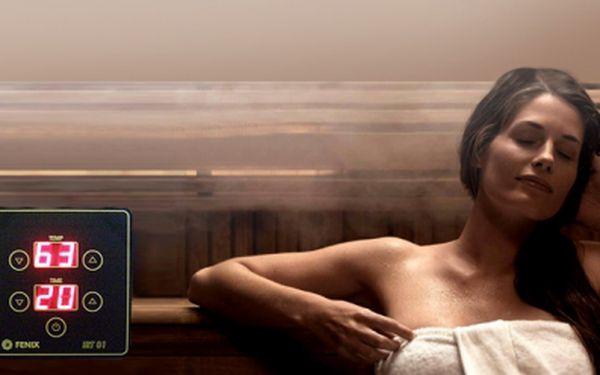 """INFRAKABINA - """"sauna"""" pro 2 osoby na 1 hodinu za 199 Kč! Netrapte se vedrem v klasické finské sauně, InfraKABINA nahrazuje klasické saunování a nabízí mnohem účinnější detoxikaci organismu. Sleva 60%!"""