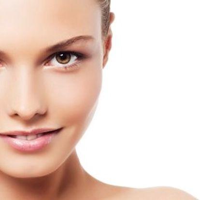 Lifting obličeje ultrazvukem – 45 min. Zahrnuje hloubkové čištění a obličejovou masáž, použití živého kolagenu a kyseliny hyaluronové