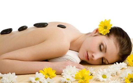 Dopřejte si malé odměny! Zkuste masáž teplými lávovými kameny. 54% sleva na 60 minutovou masáž Hot stones- lávové kameny prohřejí celé tělo, masáž stimuluje krevní oběh i lymfatický systém a přináší hluboký relax.