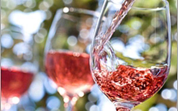 Valentýnské růžové víno!