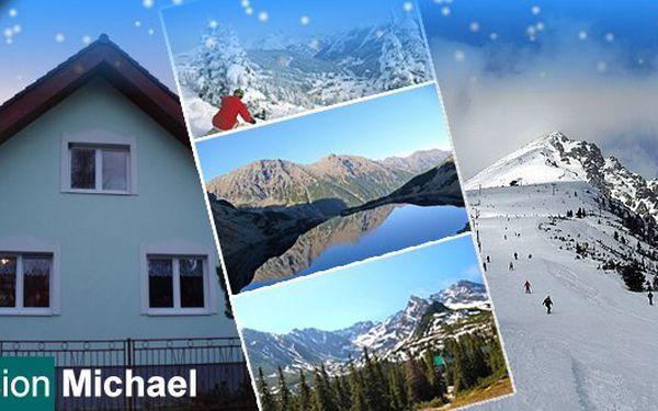 Dvě noci pro 2 s polopenzí saunou a drinkem ve Vysokých Tatrách v pensionu Michael. Krása Vysokých Tater na Vás čeká