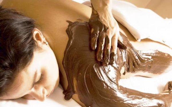 Čokoládové opojení - čokoládový zábal a masáž - 60 minut za 459kč!