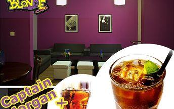 XXL míchaný drink! Vyberte si Cuba Libre nebo Morgan s colou a bavte se s přáteli!