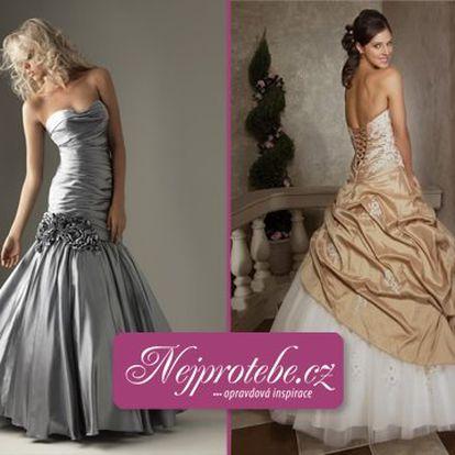 Společenské šaty za 2890 Kč! Na ples nebo na svatbu si pořiďte šaty svých snů a ušetřete fantastických 42 %!