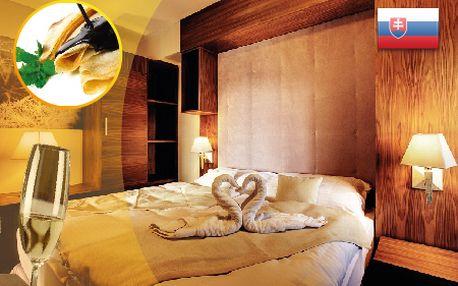 Strávte VALENTÍN so svojou láskou v luxusnom hoteli MINERÁL***! Komfortné ubytovanie, wellness, skvelá gastronómia a fľaša sektu pre nezabudnuteľné romantické chvíle so zľavou až do 51%!