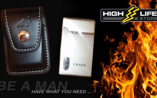 Překvapte své známé kuřáky krásným zapalovačem v koženém pouzdře s gravírovaným nápisem Praha za 175 Kč s HyperSlevou 50 % a buďte za tolerantního přítele!