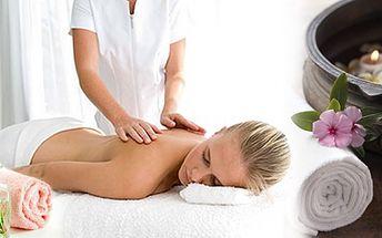 Permanentka na 5 relaxačních masáží zad a šíje o délce 30 minut za šokující cenu 750 Kč! Navíc ZDARMA 30ti minutová Indická antistresová masáž hlavy!