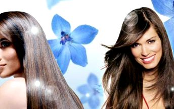 Prodloužení vlasů velice kvalitním syntetickým materiálem, 100 prameny ukončenými keratinem nebo micro-ringy, do délky 50 cm - postupný střih. Dlouhé vlasy za 1399 Kč!
