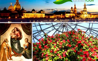 1denní zájezd do Drážďan 17.3. – kochejte se pohledem na kvetoucí kamélii v Pillnitz, Sixtinskou Madonou ve Zwingeru či výhodnými nákupy!