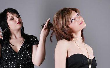 Luxusní KADEŘNICKÝ BALÍČEK pro ženy v NOVĚ otevřeném kadeřnickém salonu s 50% slevou! Navíc v den Valentýna malý dáreček! Pánové, udělejte svým dámám na Valentýna radost v podobě poukazu na kompletní úpravu vlasů v nově otevřeném SALONU ANA!