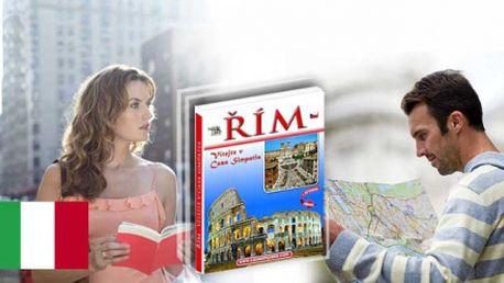 Pouhých 120 Kč včetně poštovného za průvodce Římem + 20 slev na pobyt! Navštivte Řím - jedno z nejkrásnějších měst Evropy! Jedinečná nabídka se slevou 51%!