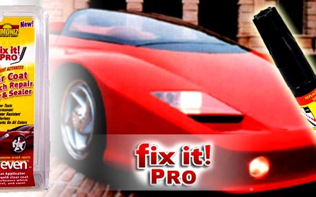 Fix It Pro za neuvěřitelnou bezkonkurenční cenu pouhých 90Kč! Opravte svůj lak na autě jednoduše a rychle!