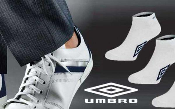 Pouze 77 Kč za 5 PÁRŮ KVALITNÍCH A TEPLÝCH Umbro ponožek! Ponožky, které nejenom super vypadají, ale i zahřejí. Pokud preferujete sportovní kotníčkové ponožky, vyberte si je a ušetřete 59% z původní ceny!