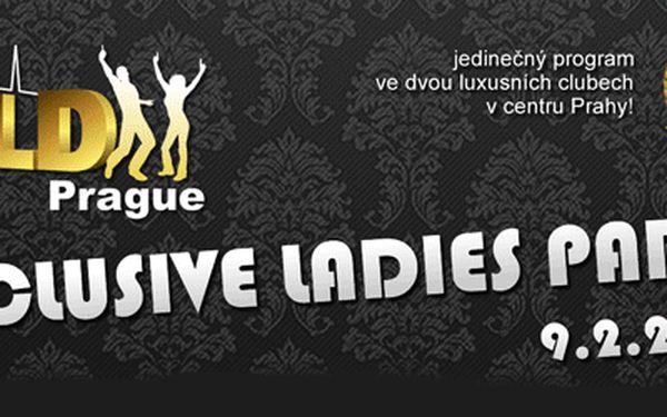 Exlusivní ladies párty za pouhých 400,- Kč! Jedinečný program ve dvou luxusních klubech v centru Prahy! Nejznámější skupina California Dreams Vás rozpálí v klubu GOLDFINGERS a poté vás bude následovat do Mazaného Králíčka!