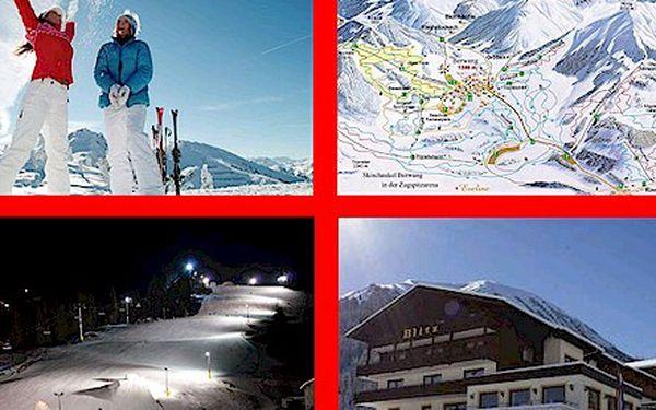 SKI: 8 dní pro 2 osoby + POLOPENZE - Hotel přímo v lyžařském středisku v Tyrolsku - relax a lyžování - limitovaná nabídka !!!