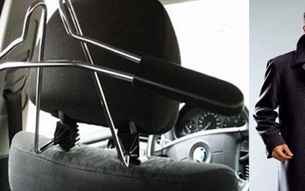 Chromový věšák na oblečení do auta za skvělou cenu 249 Kč! vč. POŠTOVNÉHO !! Konec pomačkaného oblečení z cest!!