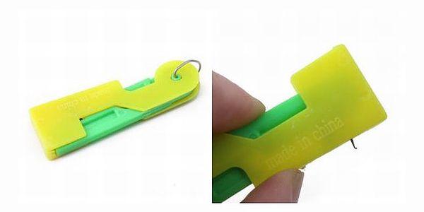 Navlékač jehel 3ks - vyzkoušejte, jak jednoduché muže být navlékání jehel(navléká jehly i v šicím stroji), už žádné oslintané ruce.