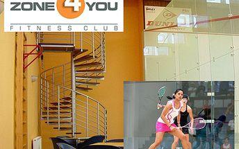 1 hodina squashe pro DVA jen za 120 Kč! Protáhněte si svaly v ZONE4YOU a posilte si kondici s 67% slevou! Brno sever
