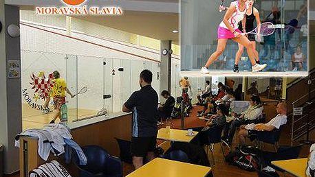 1 hodina squashe pro DVA jen za 120 Kč! Protáhněte si svaly ve Squash Slavia a posilte si kondici s 67% slevou! Staré Brno