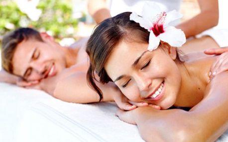 Užijte si s partnerem exotiku! LOMI nebo Thajskou masáž plnou příjemných dotyků. 47% sleva na masáž pro 2 osoby plus drobné občerstvení a lahodný čaj. Vyberte si havajskou masáž LOMI LOMI nebo thajskou olejovou masáž.