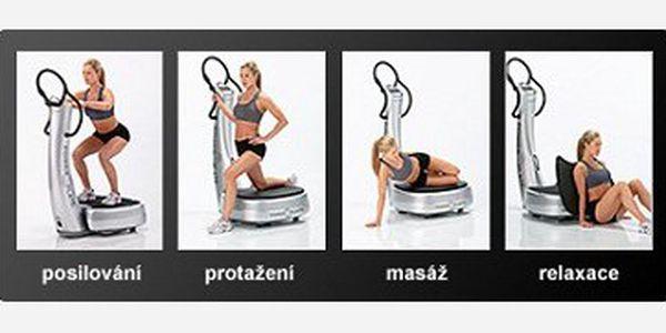 350,- Kč za šest lekcí na vibrační plošině! Cvičte bez zadýchání a spalujte až 50x rychleji než při běžném cvičení!